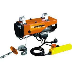 APAREJO ELECTRICO 250/500Kgs.12Mts.N2 - LUSQTOFF