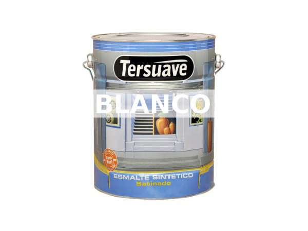 ESMALTE SATINADO BLANCO x 0.5 LITROS - TERSUAVE