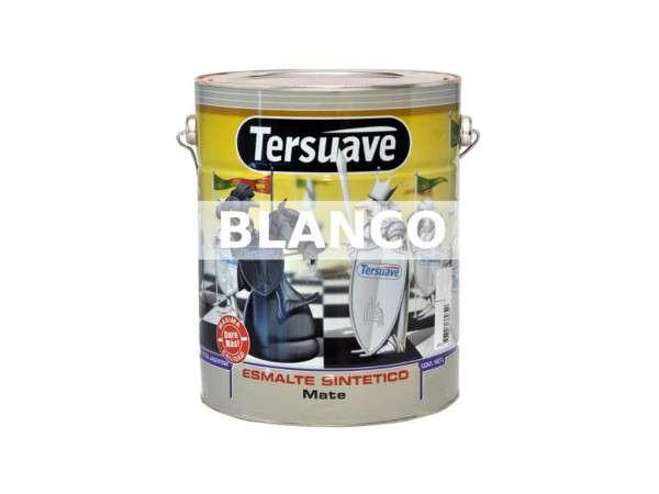ESMALTE SINTÉTICO MATE BLANCO X 0.25 LITRO - TERSUAVE