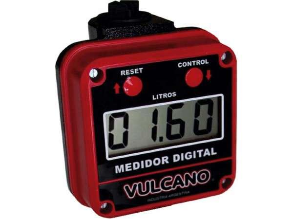 CUENTA-LITROS CAUDALÍMETRO DIGITAL PARA ACEITE Y GAS OIL PV159 - VULCANO