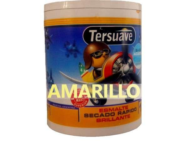 ESMALTE ACUOSO AMARILLO 1Lt - TERSUAVE