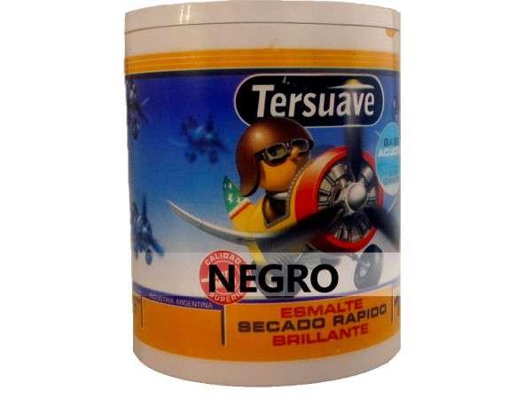ESMALTE ACUOSO NEGRO 1Lt. - TERSUAVE