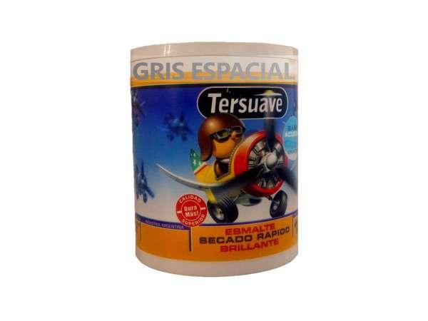 ESMALTE ACUOSO GRIS ESPACIAL 1Lt. - TERSUAVE