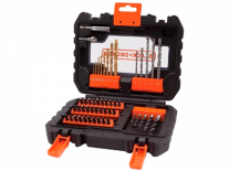 SET 50Pzas. P/TALADRO - ACCESORIOS BLACK AND DECKER