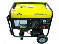 MOTOSOLDADORA 15HP E/ELECTR.2KW/200AMP - BLACK PANTHER - FMT - NAKAMA