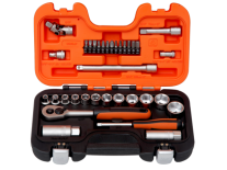 "JUEGO KIT SET DE.BOCALLAVES ENC.3/8"" Y 1/4'' - BAHCO"